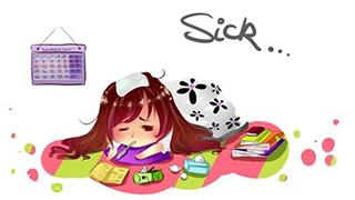 Phản ứng của bạn ngay khi phát hiện bị ốm?